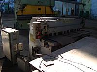 Гильотинные ножницы НД3314 - 2,5/1600 мм.