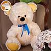 Плюшевый медвежонок Томми, 70 см, кремовый, фото 2
