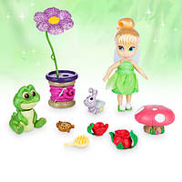 Анимационный набор кукла мини Динь - Динь  (Тинкер Бэль) Дисней Disney Animators', фото 1