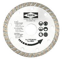 Алмазный диск 115 мм, turbo Vorel