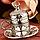 Набор чашек для кофе на 6 персон Sena Серебристый цветок, фото 7