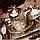 Набор чашек для кофе Серебристый цветок Sena на 2 персоны, фото 3