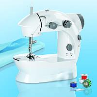Мини швейная машинка Mini Sewing Machine 4 в 1 с блоком питания