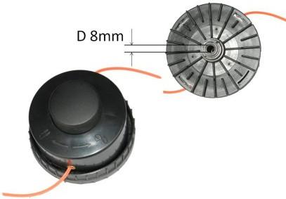 Головка косильная для электротриммеров малой мощности (D=8 мм)
