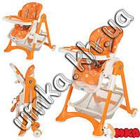 Стульчики для кормления Bambi М 2430-7 оранжевый