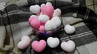 Хлопковая гирлянда Тайские радужные чудо-фонарики СЕРДЦА 20 шт., фото 1