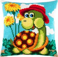 """Набор для вышивания нитками """"Подушка """"Черепаха"""""""