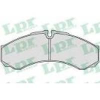 Тормозные дисковые колодки (пер/зад) на Iveco Daily II/III/IV- LPR (Италия) - LPR05P684