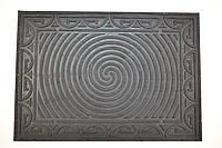 Коврик придверный Спираль резиновый 51х72 см, фото 1