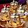 Набор чашек для кофе на 6 персон Sena Золотой тюльпан, фото 3
