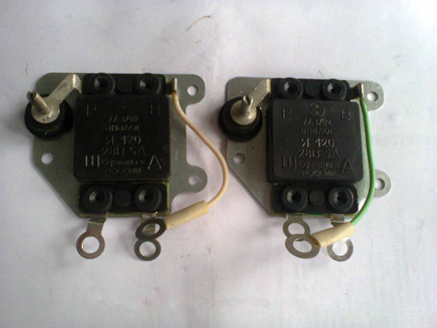 Реле интегральное Я120Б генератора МТЗ,ЮМЗ Шоколадка, фото 2