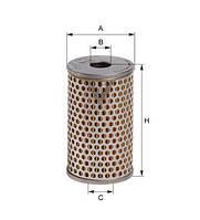 Фільтр гідравлічний E10H02 (HENGST)