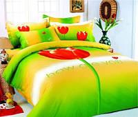 Комплект постельного белья  le vele сатин размер полуторный TULIP