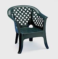 Кресло Lario зелёное