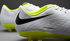 Бутсы Nike Hypervenom Phatal FG 599075-107,Белые, найк хупервеном (Оригинал), фото 3