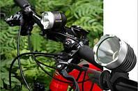 Передняя велофара Cree XML BL-T6 SXO (1800люмен)