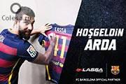 Звезды «Барселоны» снялись в новой рекламе Lassa