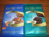 Бельгийский шоколад Cachet в ассортименте 300 g