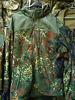 Куртка флисовая армейская НАТО расцветка Flecktarn