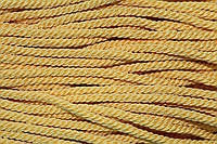 Канат декоративный 6мм (50м) желтый , фото 1