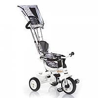 Детский трехколесный велосипед надувные колеса lexus trike safari зебра