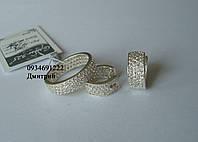 Набір Шик срібло 925, фото 1