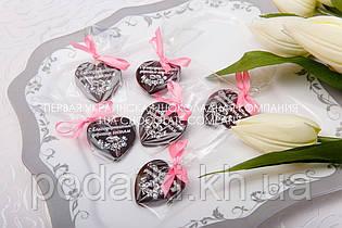 Шоколадні подарунки гостям на весіллі