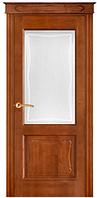 """Межкомнатные двери из массива ольхи """"№6/2-Ол"""" ПО, 60, 70, 80, 90, со стеклом"""