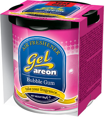 Areon Gel Bubble Gum Жвачка (GCK10)