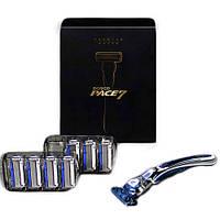 Набор для бритья Dorco Pace 7 Premium Gift Set (бритвенный станок, сменные картриджи 8 шт)