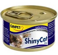 Gimpet ShinyCat с лососем и тыквой 70 гр.*2 шт.