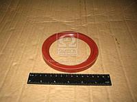 Сальник вала коленчатого КАМАЗ передний ( красный) (166) (производитель Украина) 740.1318166-01