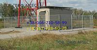 Металлический забор из сварной сетки