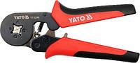 Yato клещи для обжима коннекторов 180мм, 0,2 - 6 мм2 2240