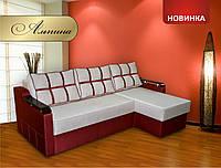 """Угловой диван """"Альпина"""" (еврокнижка)"""