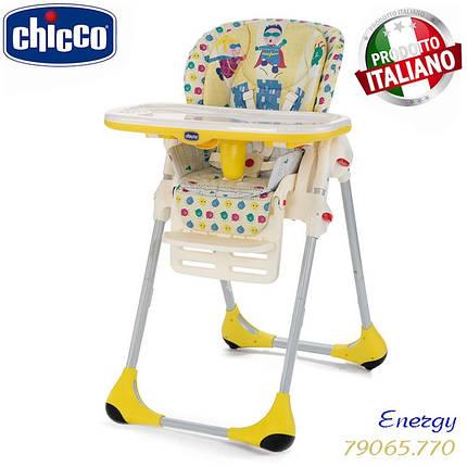 Стульчик для кормления Chicco Polly 2 in 1 Energy, фото 2