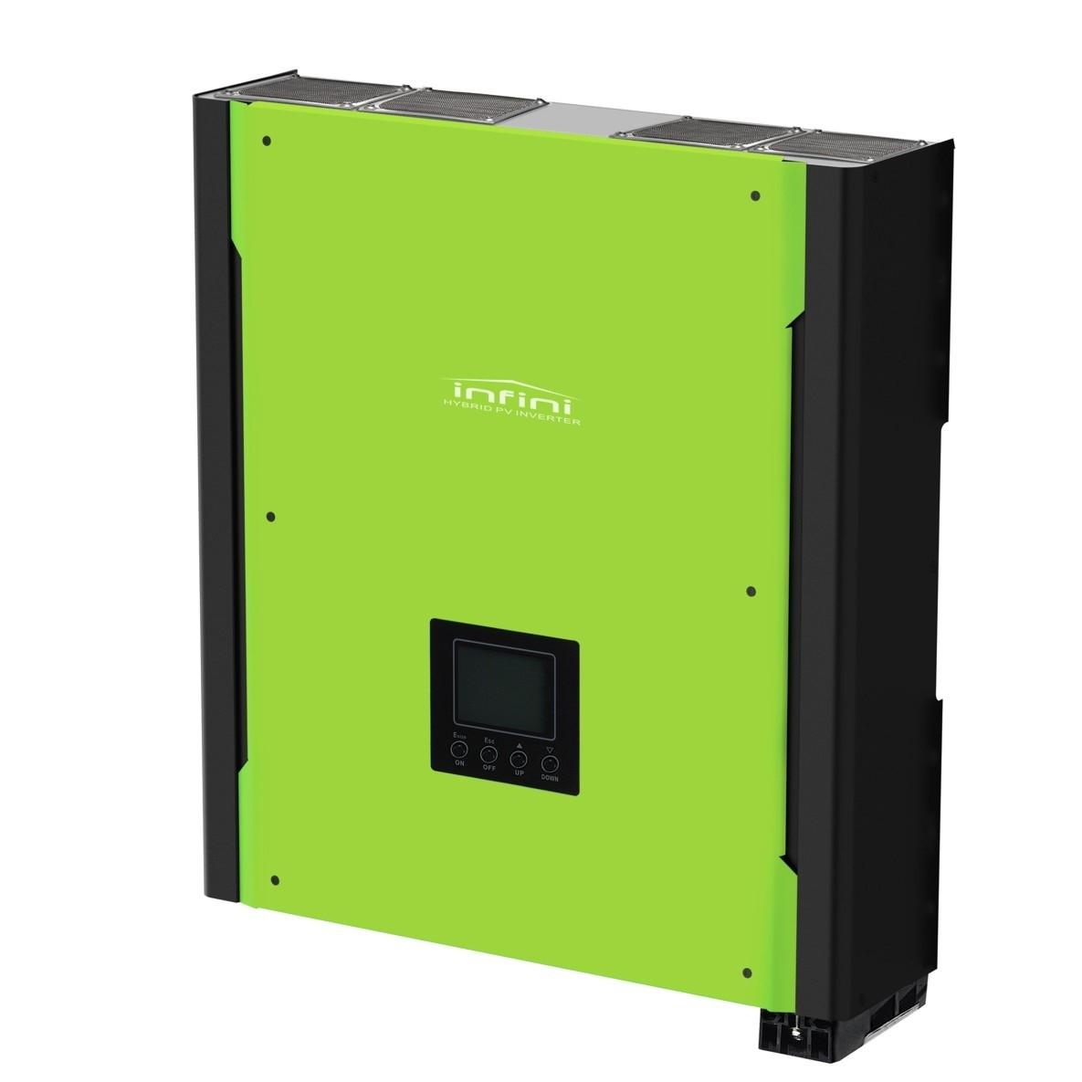 Гибридный инвертор InfiniSolar Plus 3KW (3 кВт 1-фазный 1 МРРТ)