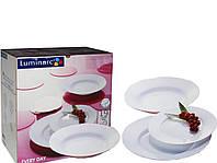 Набор столовый Luminarc Every Day 19 предметов (белый).