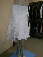 Белая женская летняя юбка