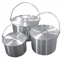 Котел Tramp алюминиевый 9 л (TRC-056) 9 л, алюміній, 0.8 кг