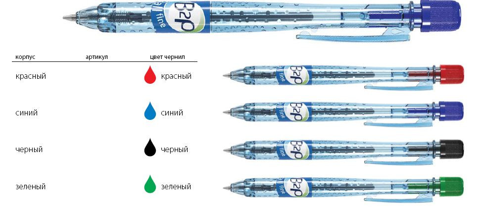 Ручка BL-B2P-5-B-BG