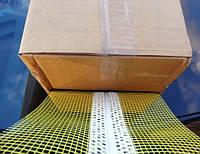 Профиль гибкий угловой с сеткой для нестандартных (непрямых) углов в упаковке 25 м.п, фото 1