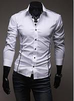 Рубашка мужская приталеная, фото 2