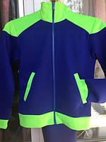 Яркий модный Спортивный костюм Электрик+Салатовый от роста 122 см до 155
