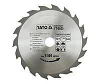 Yato пильный диск 160x20 мм 18-зубцов 6055