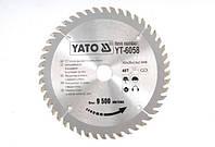Yato пильный диск 160x20 мм 48-зубцов 6058