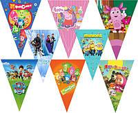 Новинки!!! Свечи для торта, вымпелы-флажки, фольгированные шарики и прочая продукция для организации дня рождения.