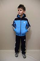 Детский  спортивный костюм с полосками на мальчика и девочку