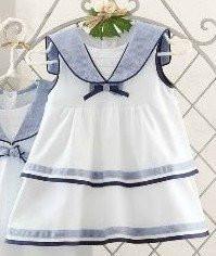 Платье-песочник «Морячка Ретро»