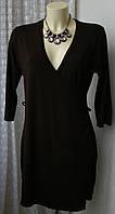 Платье женское модное стильное вискоза стрейч мини бренд Joachim Bosse р.48-50 5736